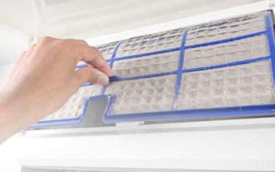 ¿Cómo limpiar los filtros de aire acondicionado?