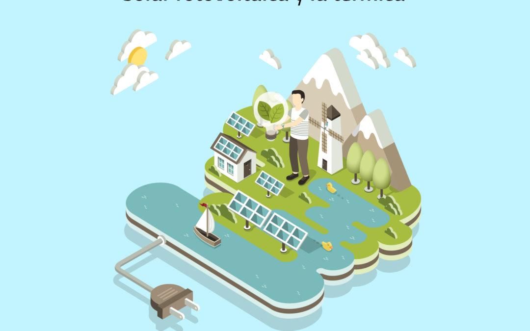 Diferencias entre la energía solar térmica y fotovoltaica