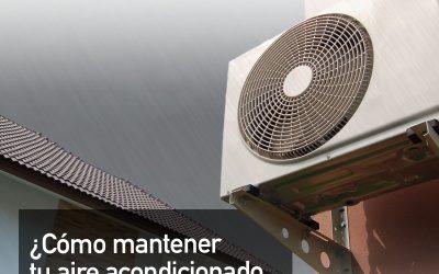 Consejos para mantener el aire acondicionado en otoño